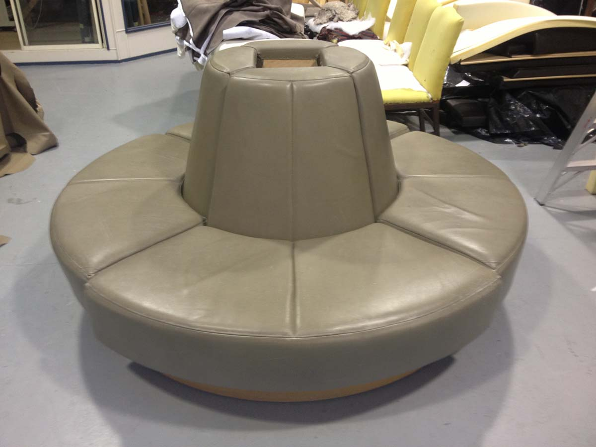 Seating to be recovered in leather for The Rees Hotel
